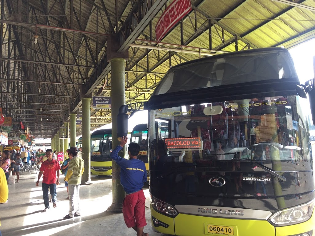 San Carlos Terminal of Cebu to Bacolod with Ceres buses