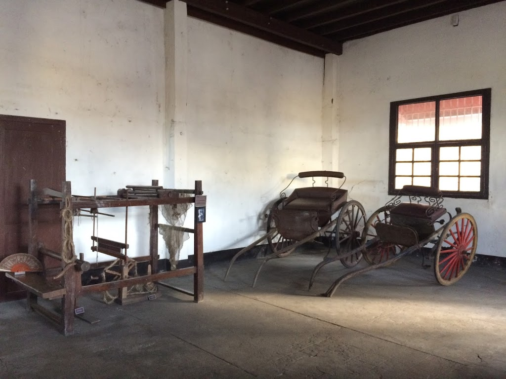 Ysabel Jalandoni Ancestral House where its rich culture of sewing is seen here in Silay City