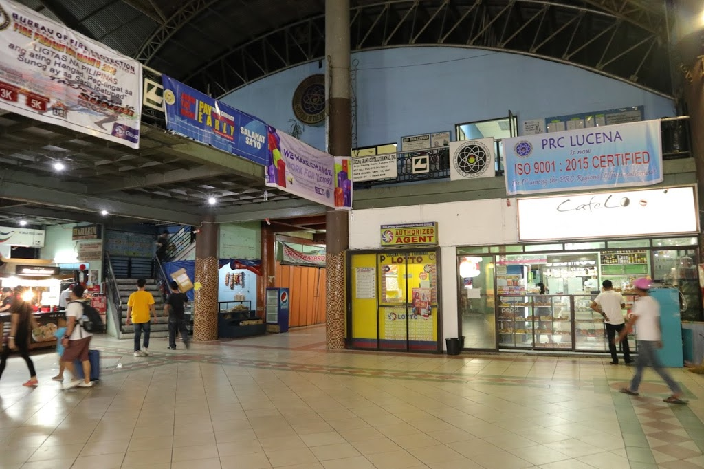 PRC located in bus terminal going Alabang from Lucena